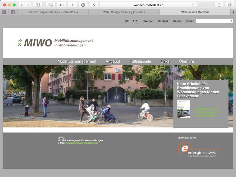 Wohnen & Mobilität Webdesign: Optimierung Theme, Wordpress-Plugin, Responsiv-Desing